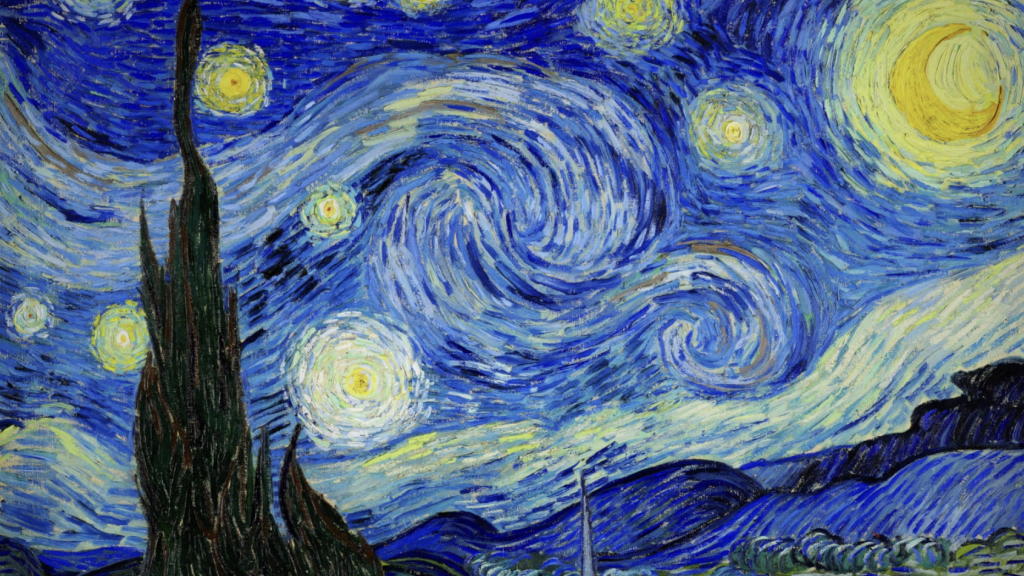 London Art Studies Vincent Van Gogh The Starry Night