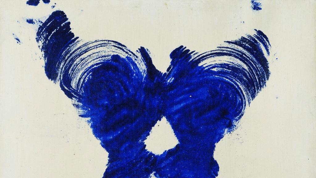 London Art Studies Blue