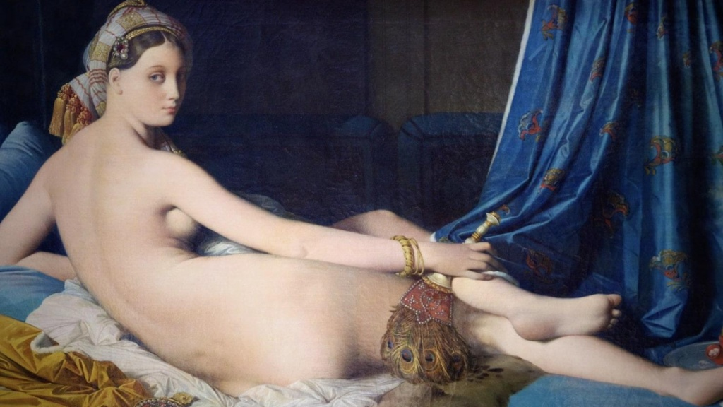 London Art Studies Jean Auguste Dominique Ingres Une Grande Odalisque
