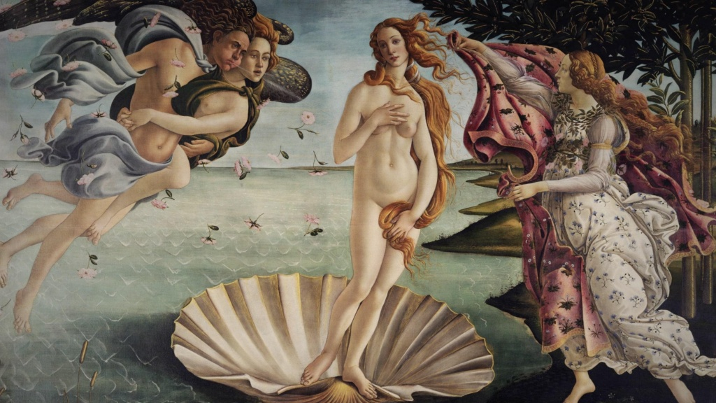 London Art Studies Sandro Botticelli Birth of Venus