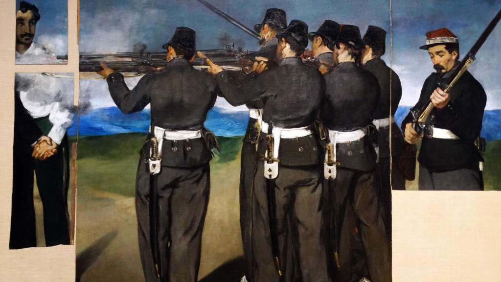 London Art Studies Edouard Manet The Execution of Maximillian