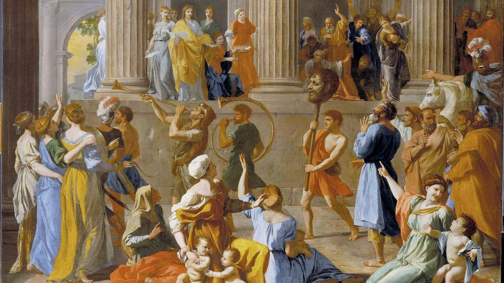 Poussin, The Triumph of David
