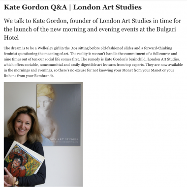 Country & Town House featuring London Art Studies