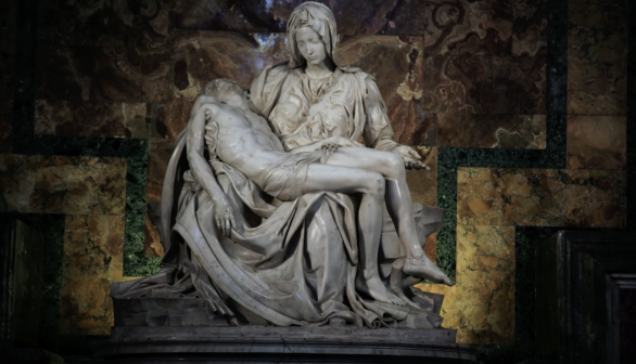 London Art Studies Michelangelo Pieta