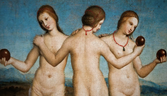 London Art Studies  Raphael The Three Graces