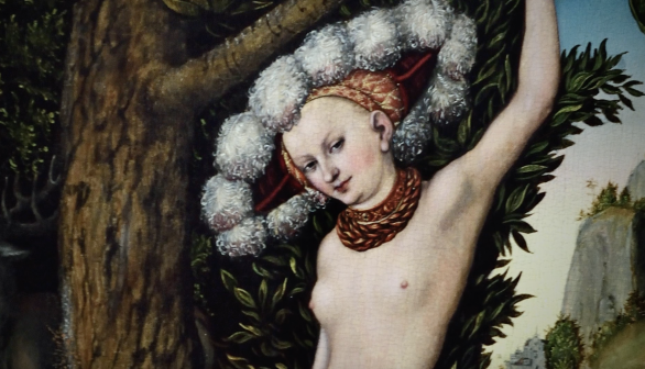Lucas Cranach the Elder Cupid Complaining to Venus
