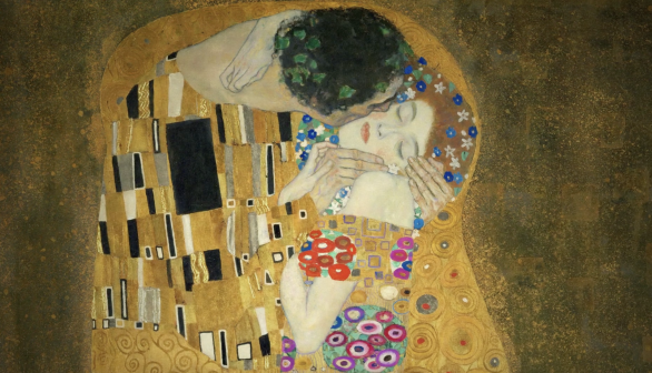London Art Studies Gustav Klimt The Kiss