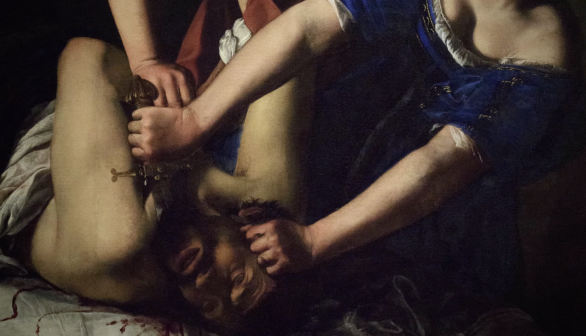 London Art Studies Artemisia Gentileschi Judith Slaying Holofernes