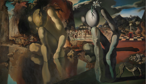 London Art Studies Salvador Dali Metamorphosis of Narcissus