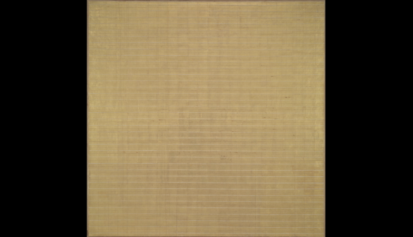 London Art Studies Agnes Martin Friendship