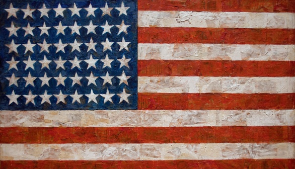 London Art Studies Jasper Johns Flag
