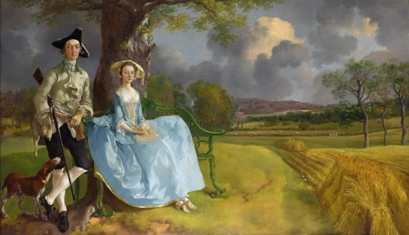 London Art Studies Thomas Gainsborough Mr and Mrs Andrews