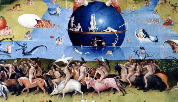 London Art Studies Hieronymus Bosch Garden of Earthly Delights