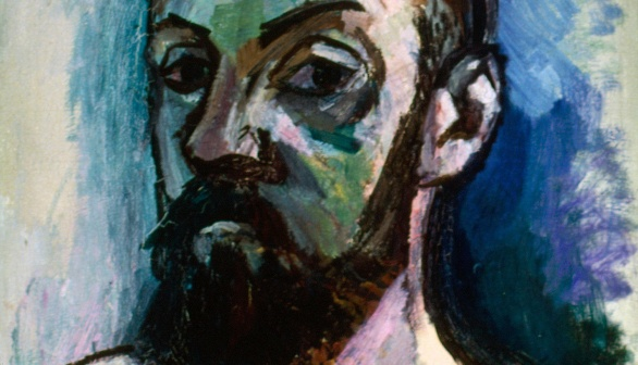 Painting of Henri Matisse