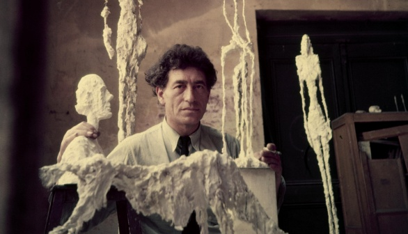 Photograph of Alberto Giacometti
