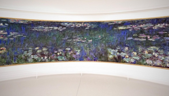 Monet's Waterlillies in Paris