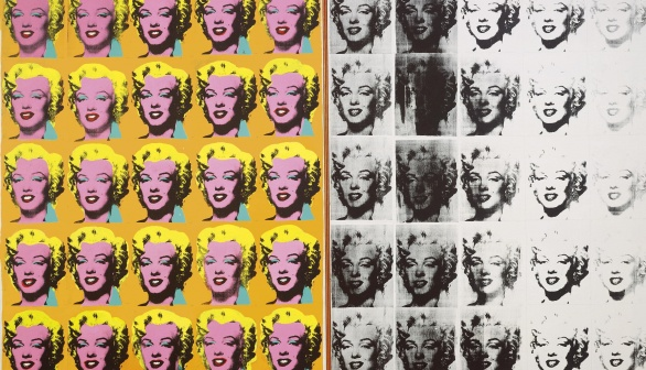 London Art Studies Andy Warhol Marilyn Diptych