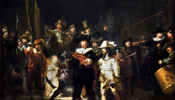 London Art Studies Rembrandt van Rijn The Nightwatch