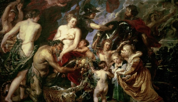 London Art Studies Peter Paul Rubens Minerva protects Pax from War Peace and War