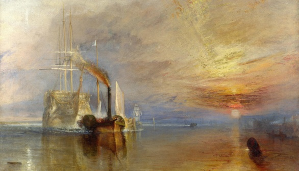 London Art Studies Joseph Mallord William Turner J.M.W. The Fighting Temeraire