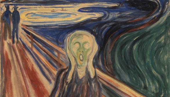 London Art Studies  Edvard Munch The Scream