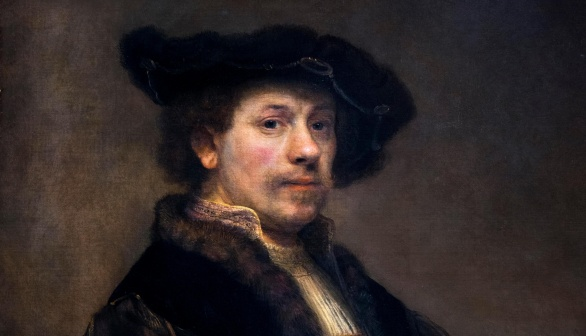 London Art Studies Rembrandt van Rijn Self Portrait at the Age of 34