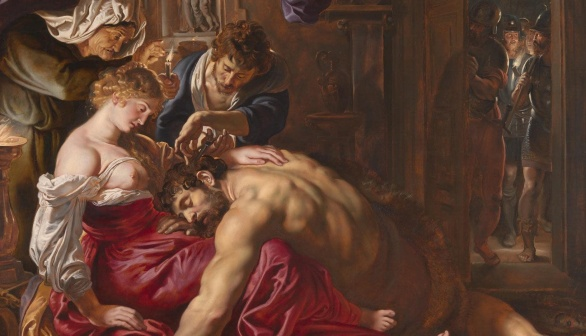 Samson and Delilah Rubens